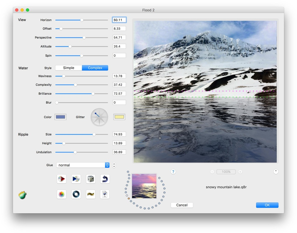 Flood Photoshop plug-in adds water to photos - Flaming Pear Software